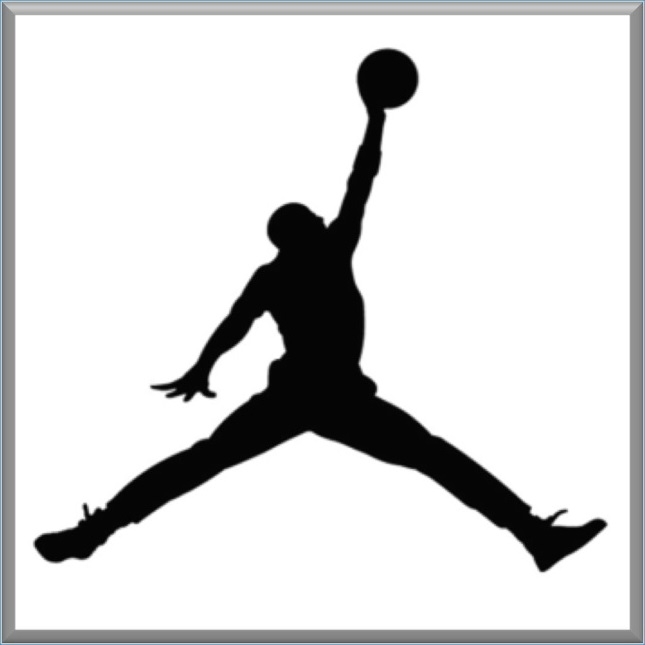 air jordan logo - crop