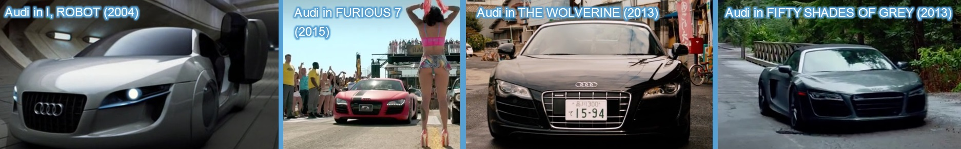 audi in movies entertainment