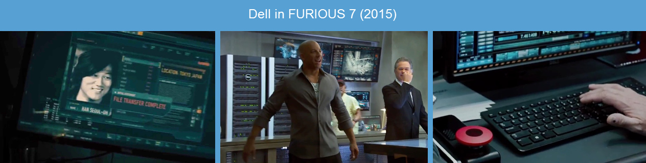 dell in fast furious 7