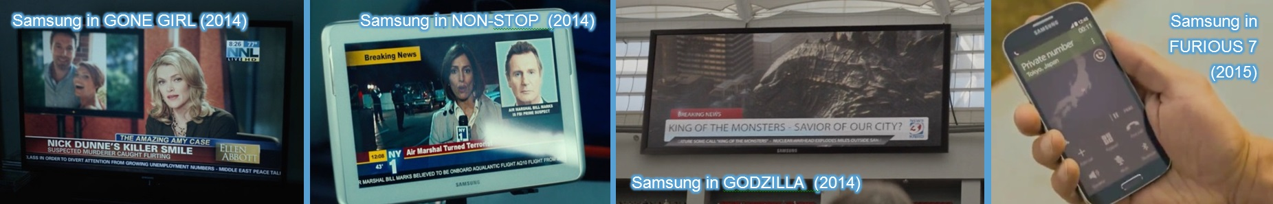 samsung in other movies
