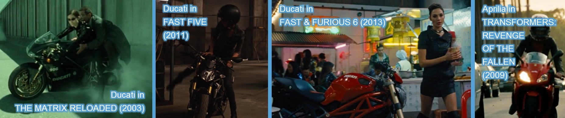 ducati aprilia entertainment movies