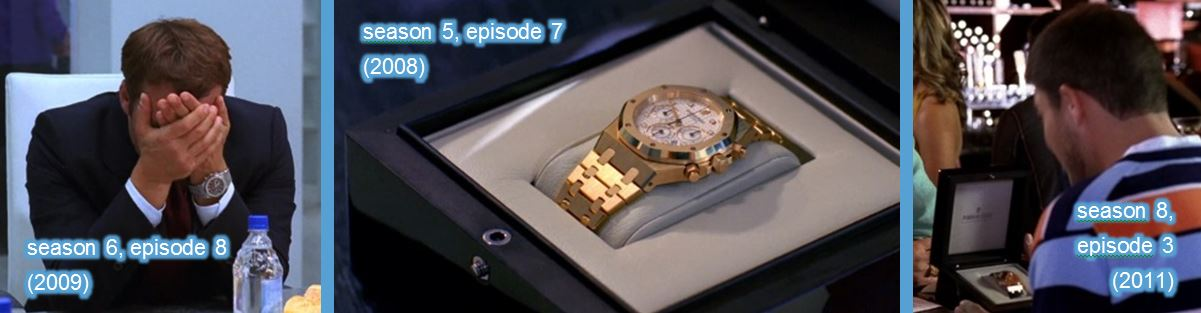 audemars piguet entourage tv show series