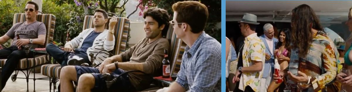 Budweiser in entourage