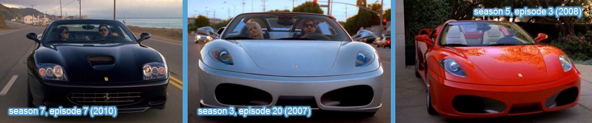Ferrari in entourage tv series
