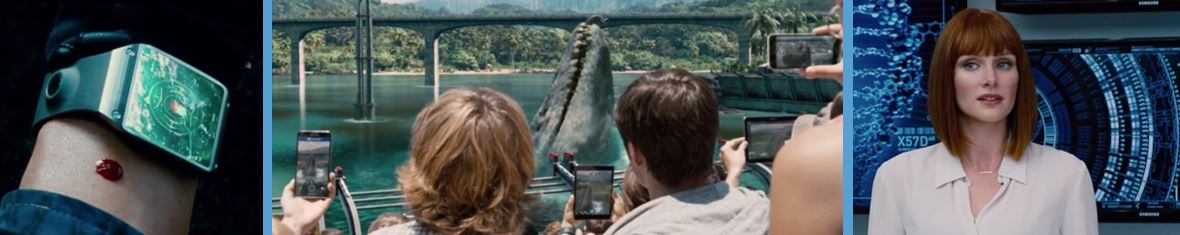 samsung in jurassic world