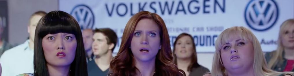 volksawgen in pitch perfect 2