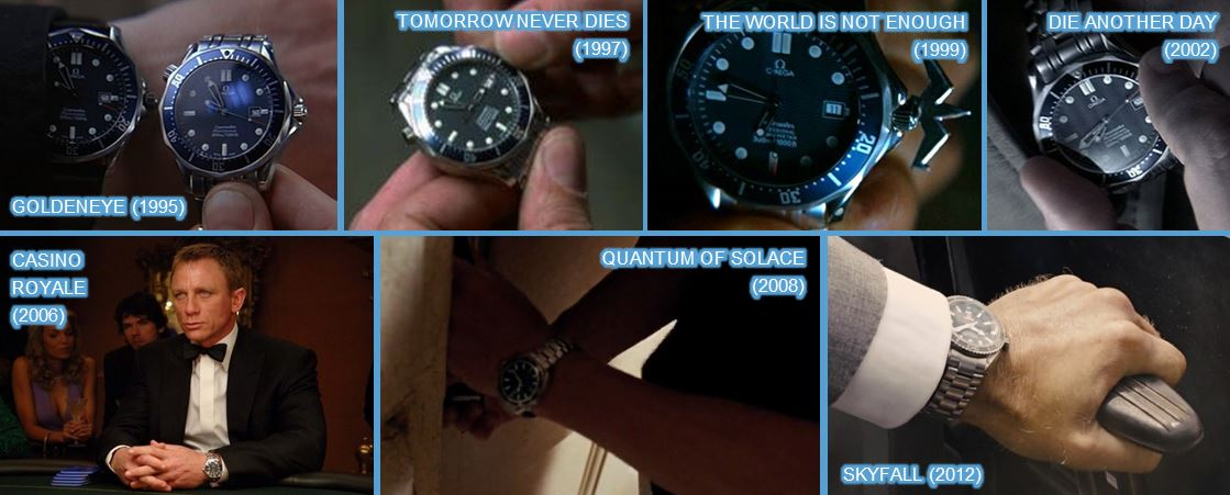 omega in bond movies