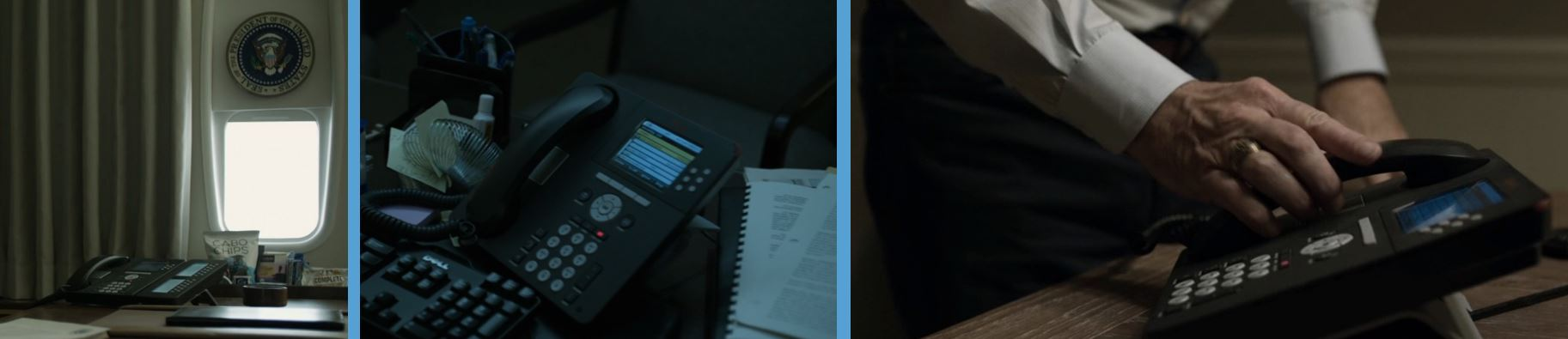avaya telephones telephones in house of cards season 4