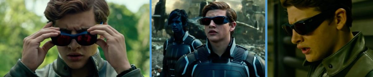 rayban ray-ban ray ban xmen x-men apocalypse product placement tye sheridan scott summer cyclops sunglasses