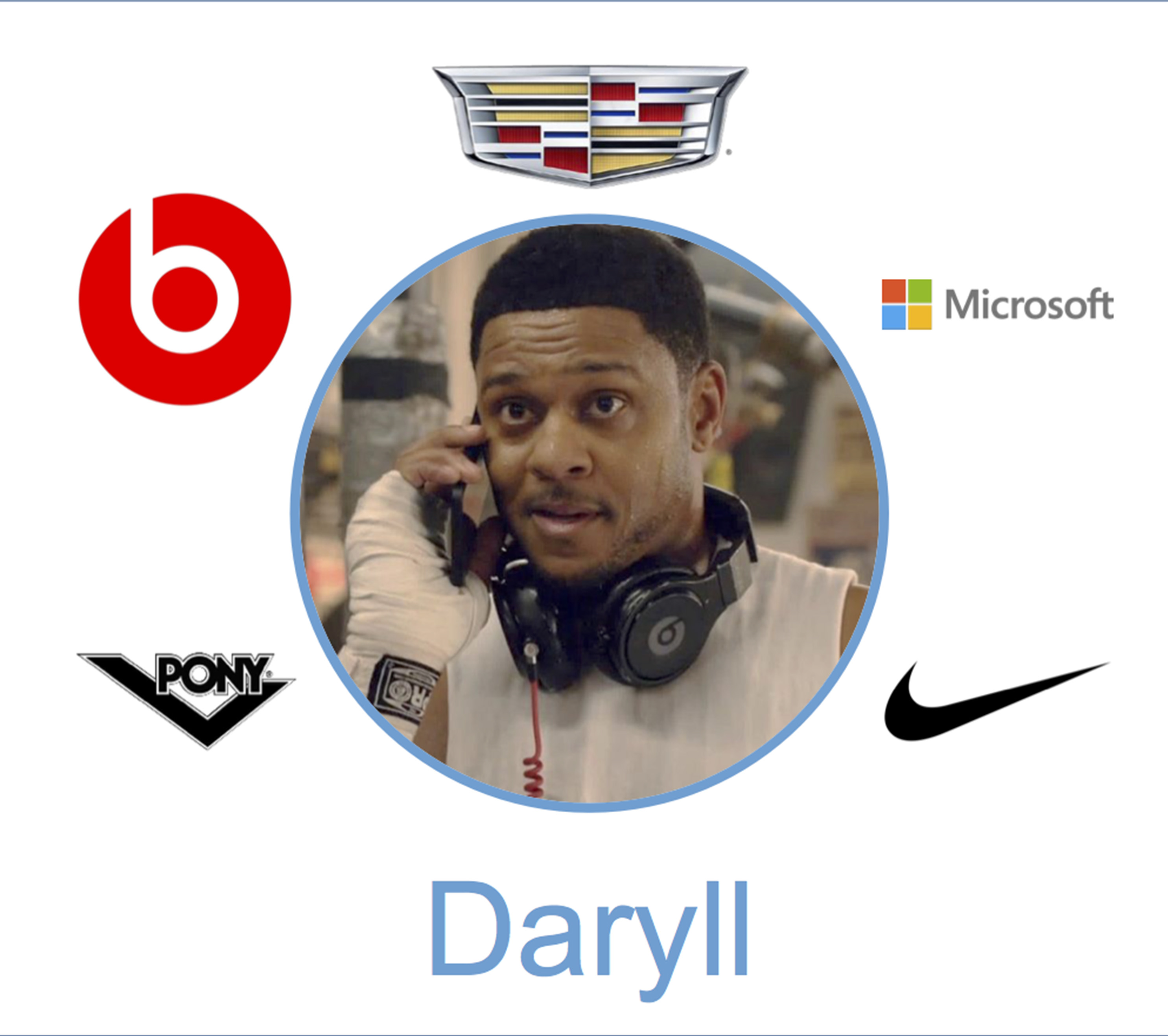 daryll brands product placment ray donovan season 4 pony nike cadillac beats by dre
