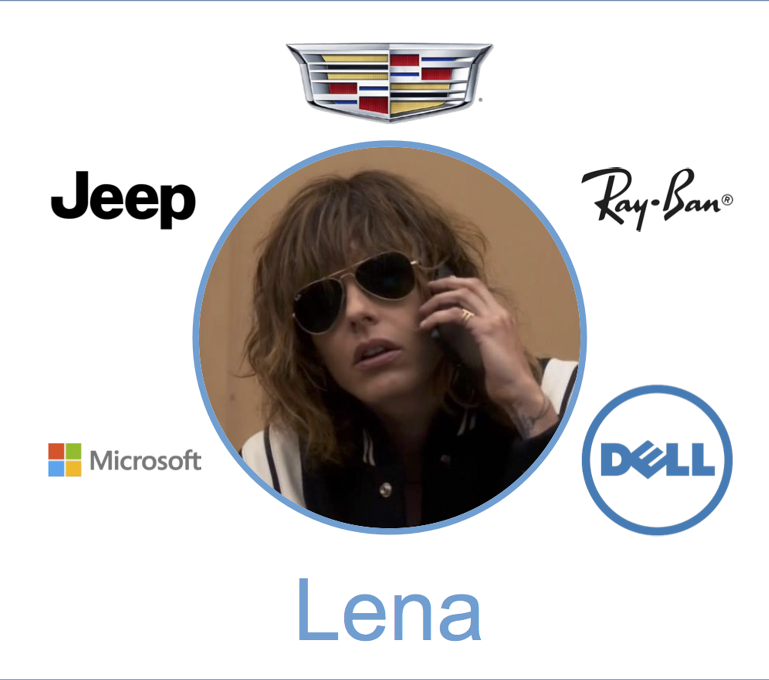 lena brands product placment ray donovan season 4 jeep ray ban cadillac dell microsoft