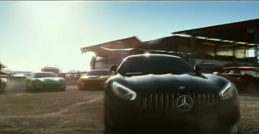Mercedes-AMG Mercedes GT R transformers product placement branding marketing the last knight advertising concave Brand tracking