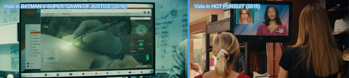transformers product placement branding marketing the last knight advertising concave Brand tracking Vizio TV