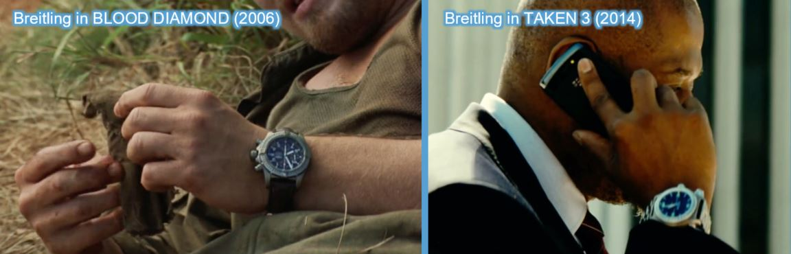 breitling transformers product placement branding marketing the last knight advertising concave Brand tracking blood diamond leonardo dicaprio Forest Whitaker taken 3