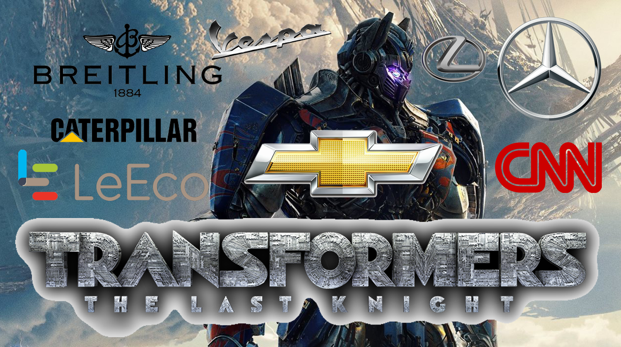 transformers product placement branding marketing the last knight advertising concave Brand tracking