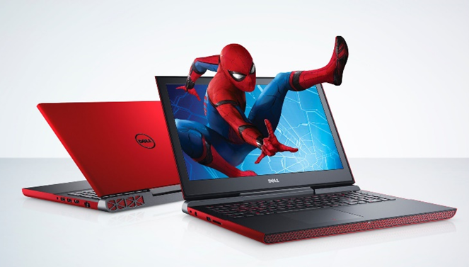 Dell advertising spiderman