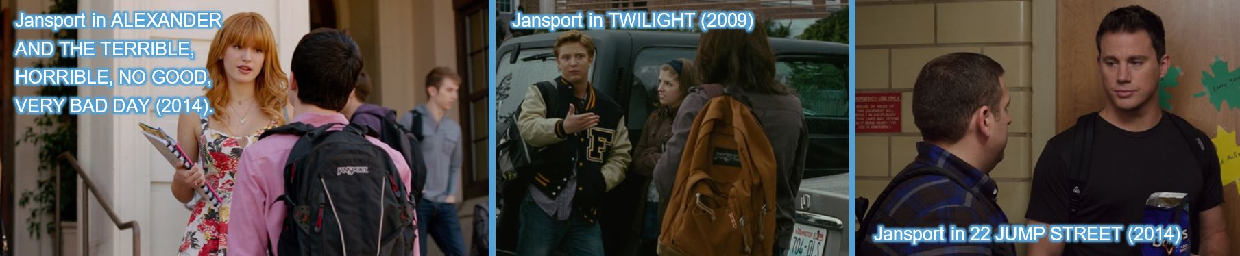 Jansport - other movies