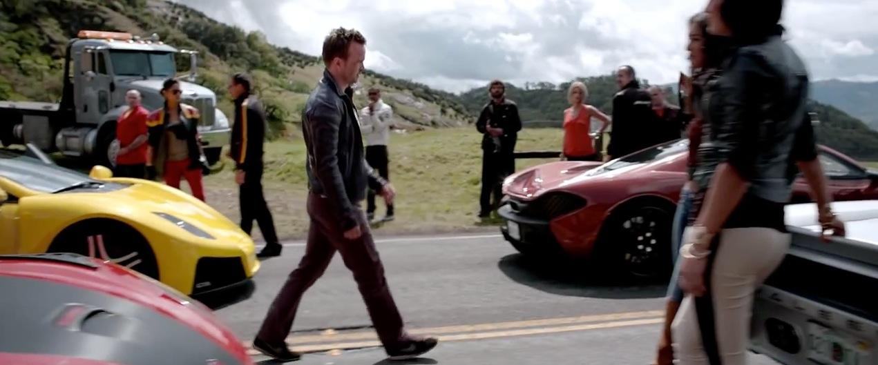 midst of fancy cars
