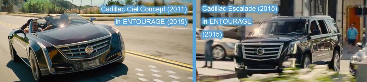 entourage Cadillac