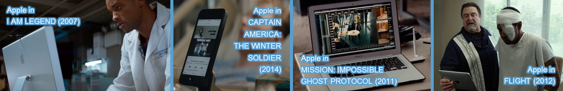 apple in movies