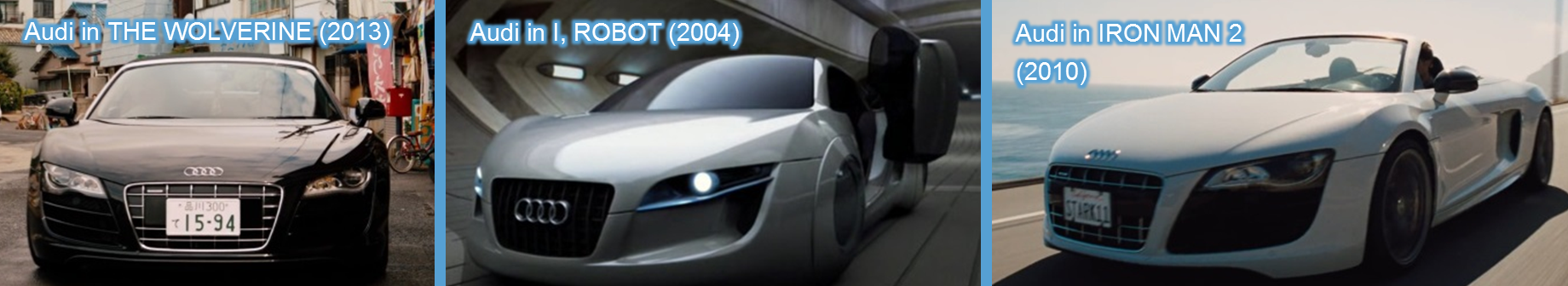audi in movies