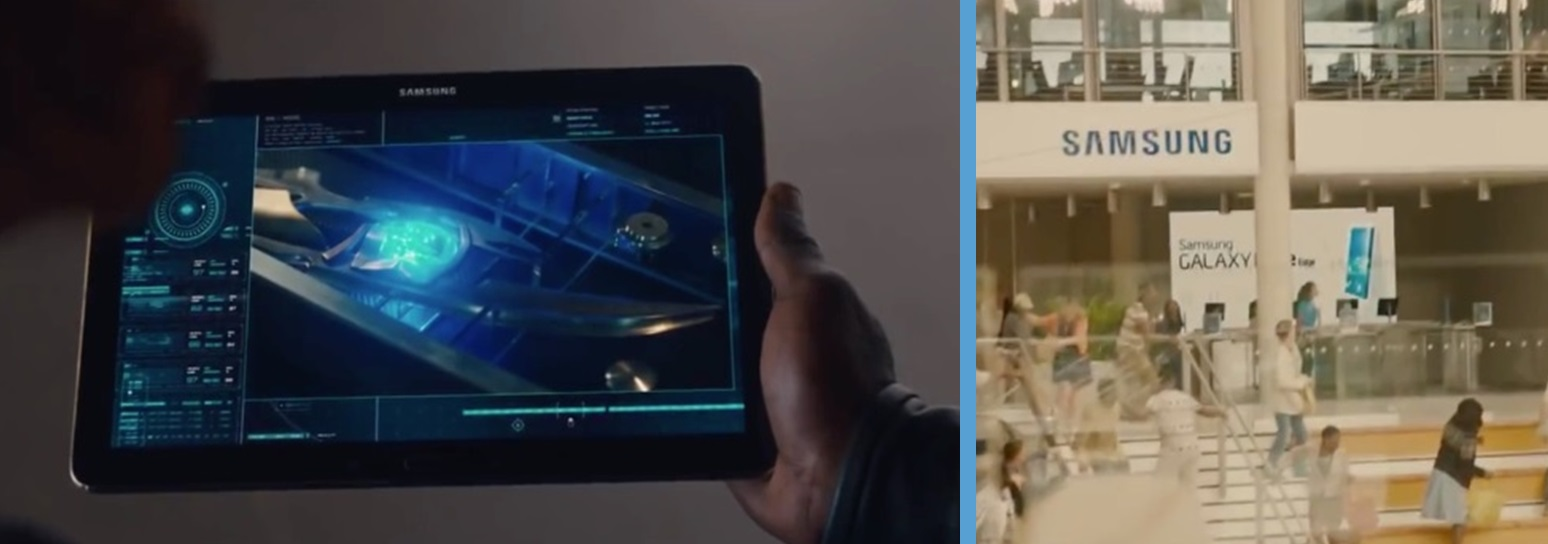 samsung in avengers age of ultron