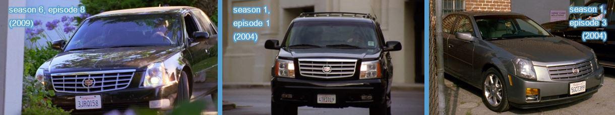 Cadillac in entourage tv series