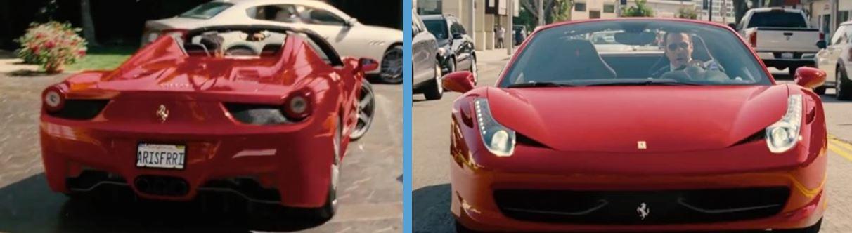 Ferrari in entourage