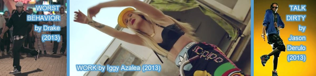 adidas in music videos