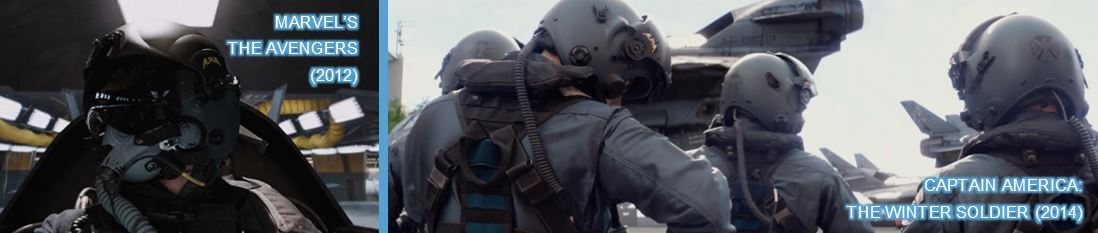 alpha helmet in avengers and captain america winter soldier