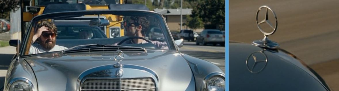 mercedes-benz in the hangover 2009