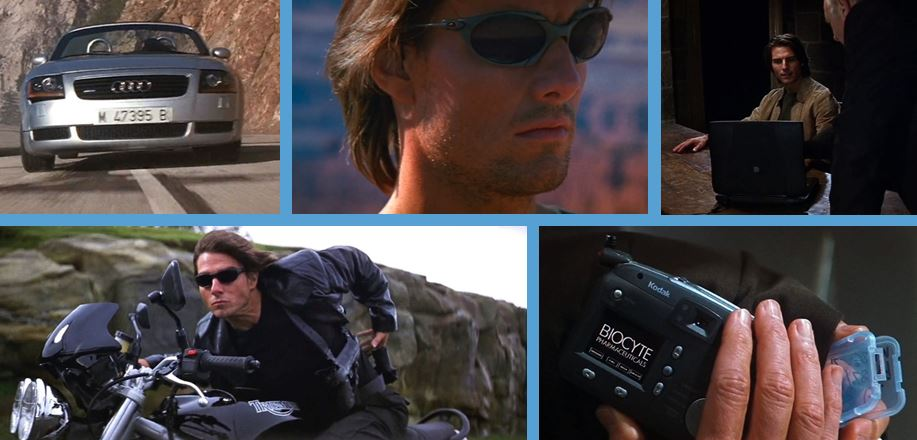 brands in mission impossible II 2006