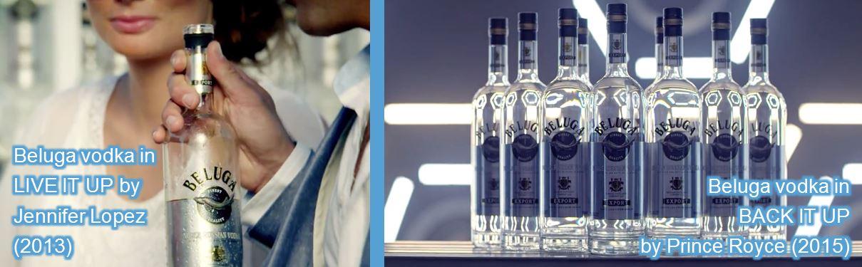 beluga vodka in music videos