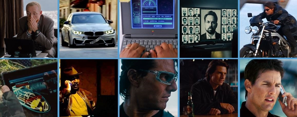 top mission impossible product placements