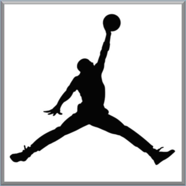 air jordan logo - crop