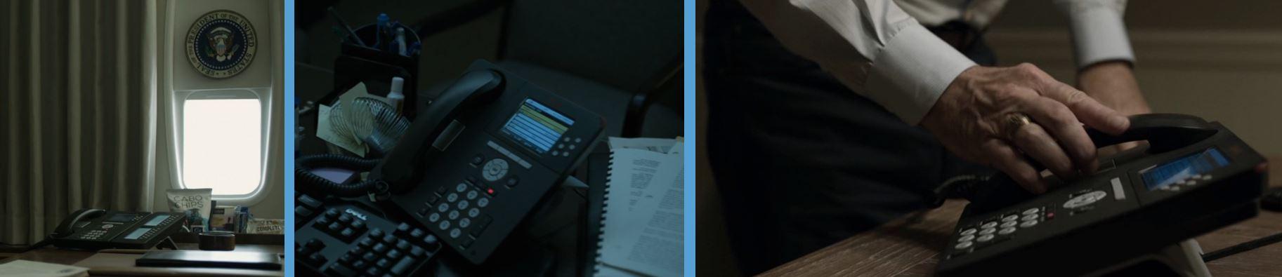 avaya telephones telephones in house of cards season 4