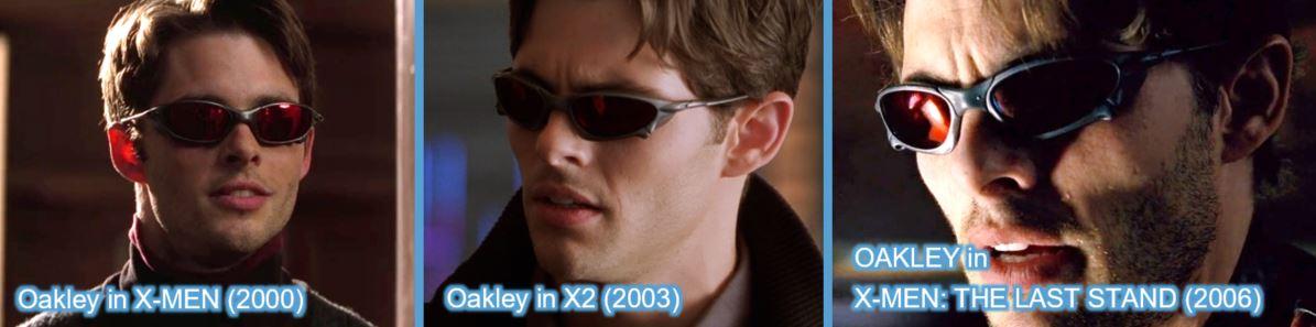 oakley james marsden x-men trilogy xmen x-men apocalypse brands product placement