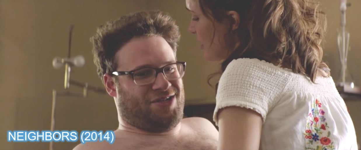 ray ban neighbors seth rogen x-men apocalypse brands product placement
