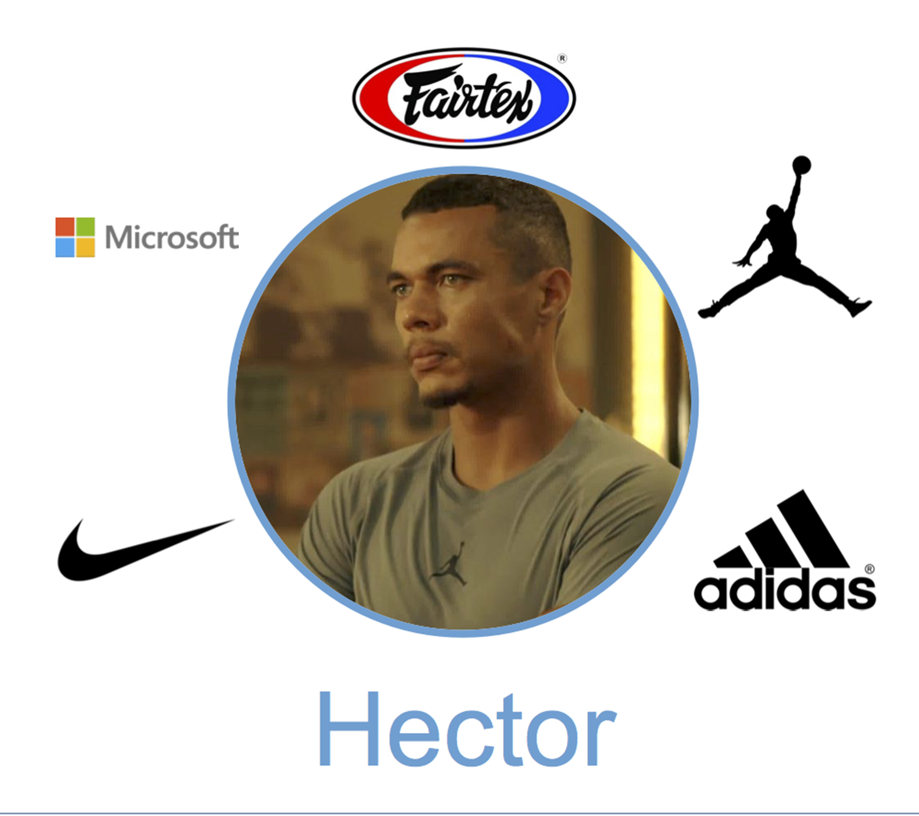 hector campos brands product placment ray donovan season 4 air jordan adidas fairtex microsoft nike