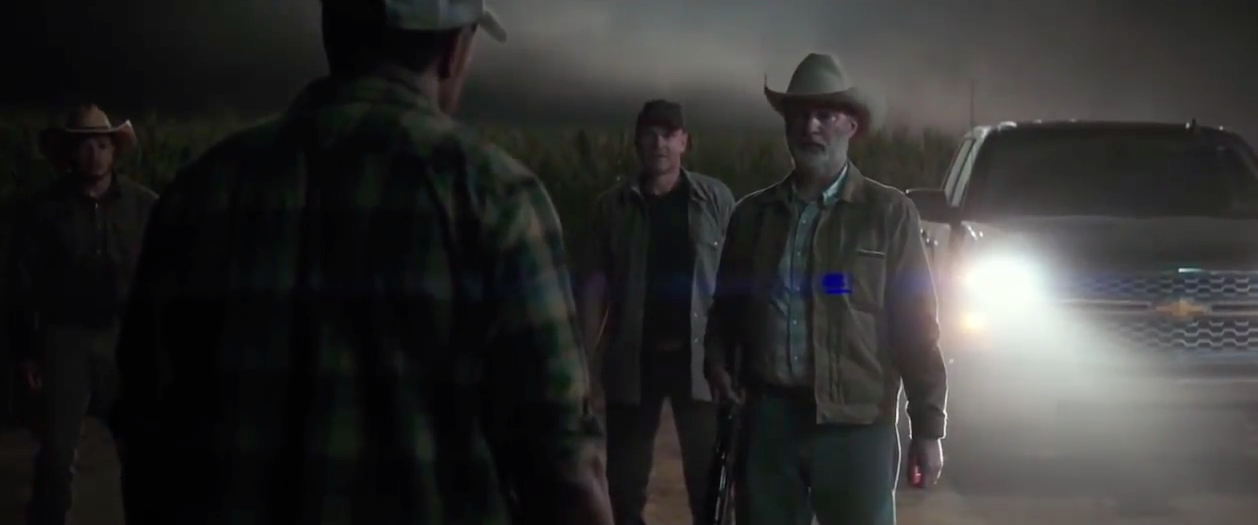 chevrolet product placement in logan wolverine