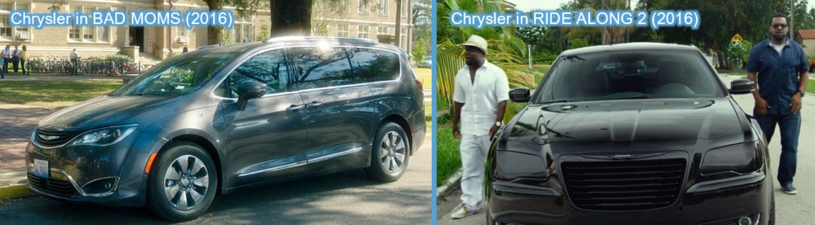 chrysler product placement in logan wolverine