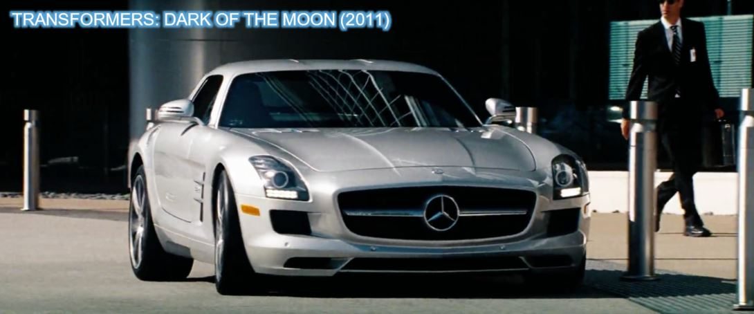 2011 Mercedes-Benz SLS AMG Dark of the moon transformers product placement branding marketing the last knight advertising concave Brand tracking