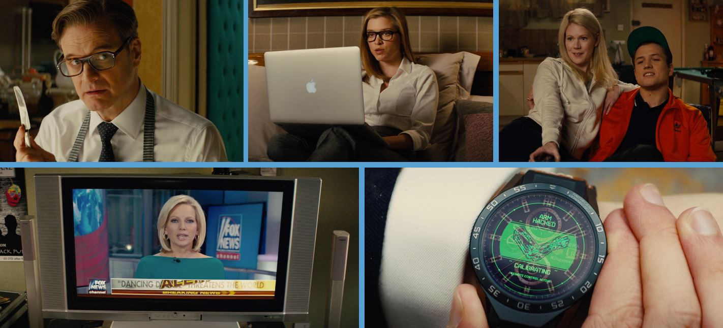 kingsman the golden Circle product placement concave brand tracking cutler and gross cutler & gross tag heuer fox news apple adidas
