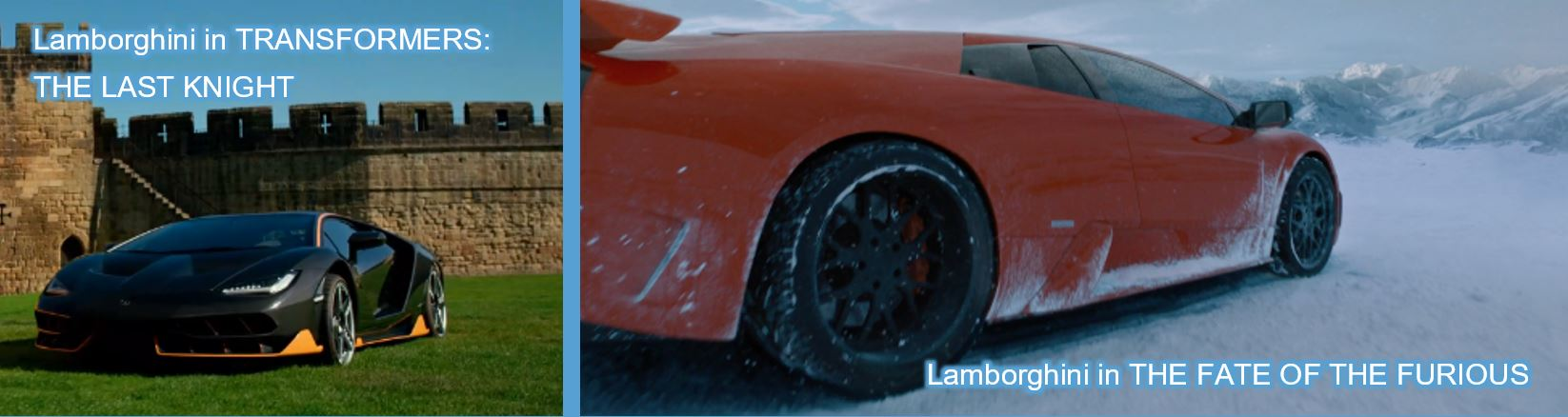 Lamborghini concave brand tracking product placement brand mentions the fate of the furious transformers the last knight