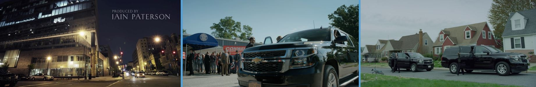 8 #8 10 most visible product placement brand in HOUSE OF CARDS Concave Brand Tracking chevrolet Chevrolet Suburban Tahoe SUV car