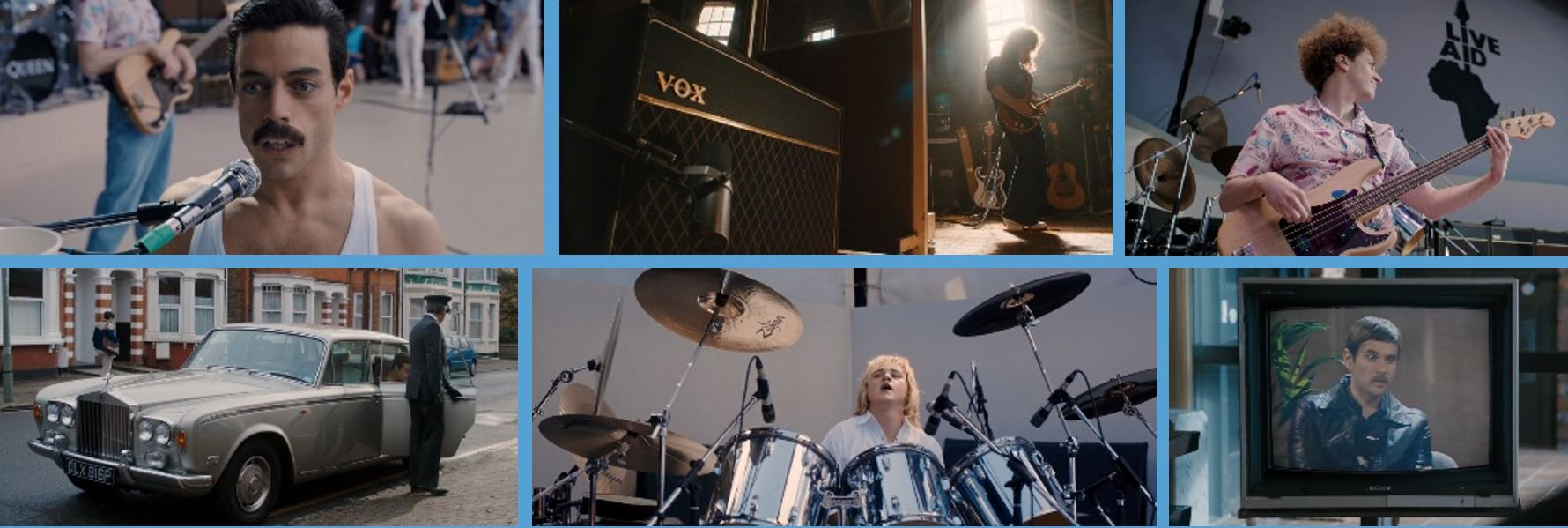 2018 product placement concave brand Tracking most brand filled movies branded entertainment marketing bohemian rhapsody Vox Zildjian Shure Sonyrolls royce rolls-royce