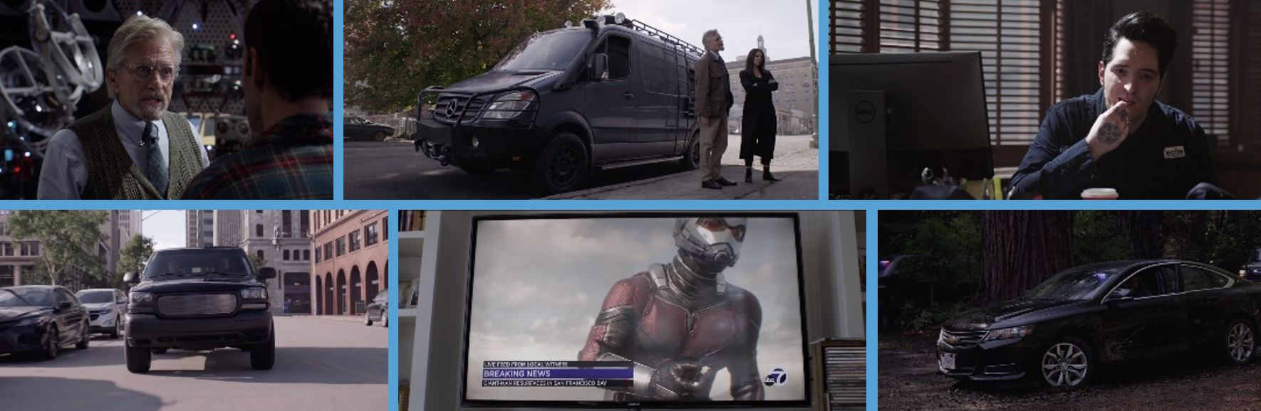2018 product placement concave brand Tracking most brand filled movies branded entertainment marketing ant man ant-man and the wasp Dell mercedes benz mercedes-benz old focals chvrolet samsung GMC