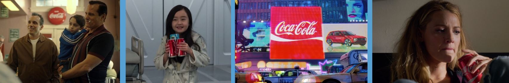 product placement concave brand tracking branded entertainment brand integration marketing valuation Coca-Cola green book spider-man into the spider-verse a simple favor Coke
