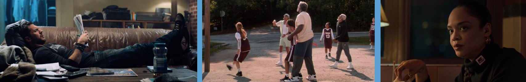 product placement concave brand tracking branded entertainment brand integration marketing valuation venom creed 2 II uncle drew Reebok shoes