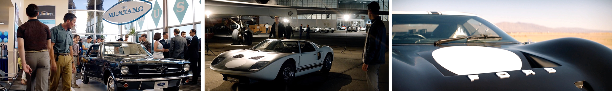 Ford, Concave brand tracking, product placement, brands, movies, entertainment marketing, branded integration, integration marketing, analysis, valuation, metrics, measurement, concave, Oscars, 2020, academy awards, Ford V Ferrari, ford, Ferrari, Christian Bale, Matt Damon, for motor company
